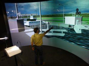 Virtuelle Realitaet Schleuse