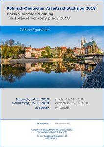 Polnisch-Deutscher Arbeitsschutzdialog 2018 Programm