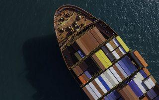 Containerschiffe spielen in Lieferketten eine zentrale Rolle