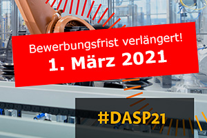 Deutscher Arbeitsschutzpreis 2021 Neuer Abgabetermin 1. März 2021