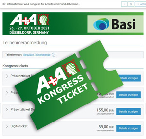 A+A Kongress Ticket